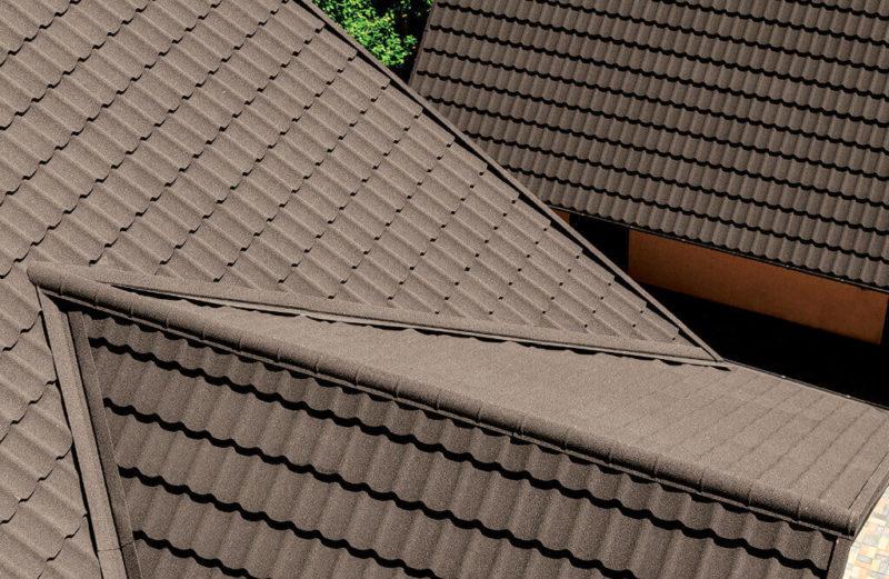 Kivipuistega teraskatus Queentile Standard 6-realine, VÄRVIVALIK